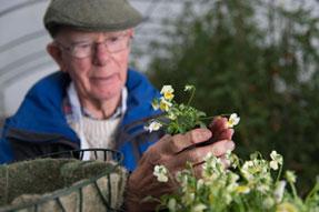 Rebecca Smith - London – gardening therapy – garden design –gardening - horticulture – elderly - dementia – gardening